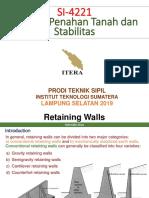 2. Retaining Walls(1)