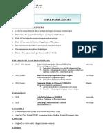 CV Version ONE