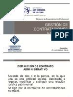 Gestion de Contrataciones Estatales - Modulo 3