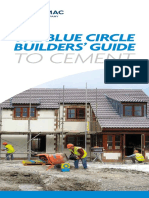 Builders guide to cement