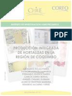 producción integrada de hortalizas