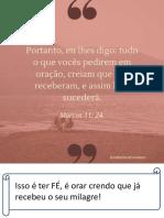 40 versículos para renovar a Fé