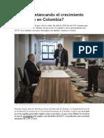 Se Está Estancando El Crecimiento Del Empleo en Colombia
