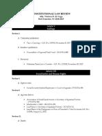 Syllabus -Art. v, XIII, XIV (as of Aug 2018)