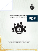 DDIA-XGE - Underworld Speculation