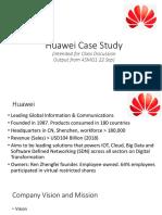 Huawei -TOW/SWOT/Environment/Situational Analysis