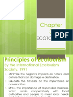 Chapter 3- Ecotourism