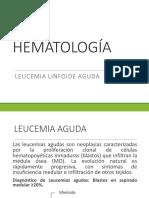 Leucemia linfoide aguda