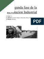 La Segunda Fase de La Revolucion Industrial
