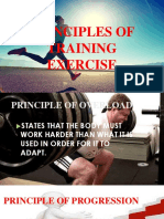 Principles of Training Exercise