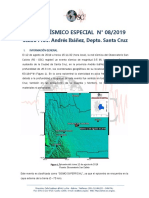 Registro sismico de santa cruz bolivia