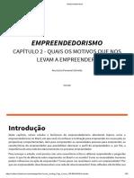 empreendedorismo 2 unidade