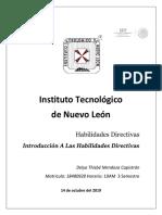 Habilidades Directivas Unidad 1