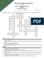 Summative Quiz q1 Music