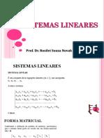 4- Apresentação - Sistema Linear