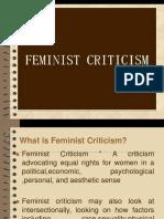 Feminist Criticsm