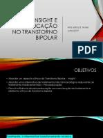 Insight e Psicoeducação
