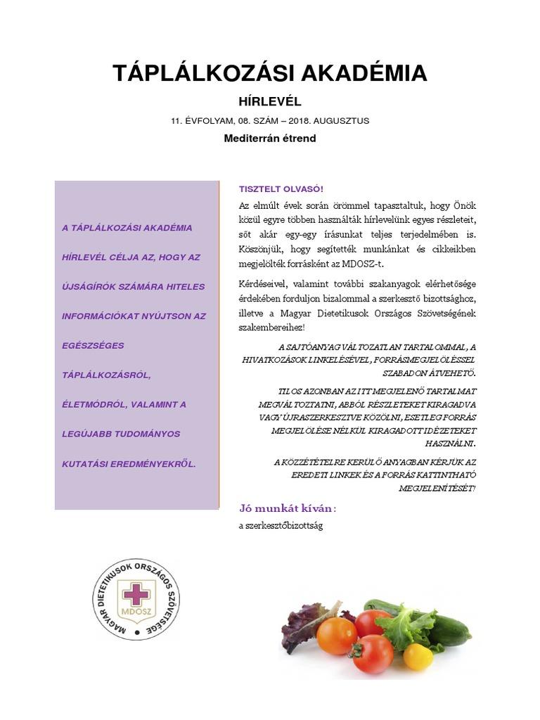 Mediterrán Diéta Könyv Pdf
