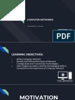Week 5 - Computer Networks