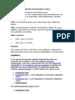 Resumo de Bioquimica Clinica