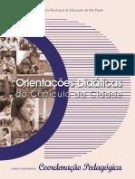 Integra - Orientações Didáticas Do Currículo Da Cidade Coordenação Pedagógica