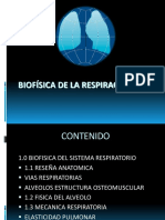 Biofisica de La Respiraciòn, 2014.