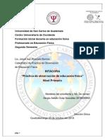 Bitacora Practica Primaria Sergio