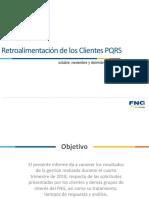 Informe de Resultados PQRS -Q4 2018