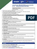 P. Requisitos Motora