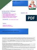 OPERADORES TURISTICOS GRUPO #6.odp