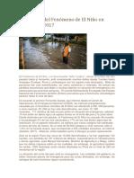El Impacto Del Fenómeno de El Niño en Piura en El 2017