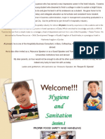 Hygiene & Sanitation Food Safety