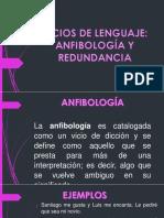 Anfibologia y Redundancia