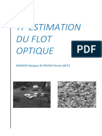TP ESTIMASTION DU FLOT OPTIQUE