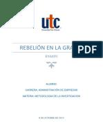 Ensayo UTC