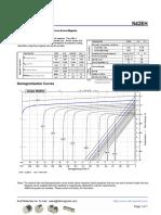 N42EH Grade Neodymium Magnets Data