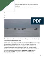 Gazetadopovo.com.Br-Enquanto ONU Amplia Mar Brasileiro PR Busca Revisão de Seu Território Marítimo