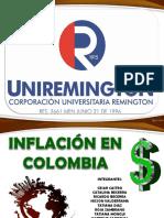 Inflacion en Colombia
