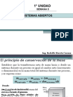 TERMODINAMICA SEMANA 5 PRIMERA LEY EN  SISTEMAS ABIERTOS.pptx
