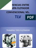 Diferencias Entre Trampa Flotador Convencional vs. Tlv