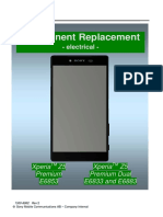 penggantian part xperia z5 big