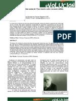 evolución  según Darwin y Lamarck