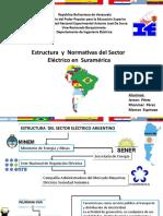 Estrutura y Normativas Del Sector Electrico en Suramerica