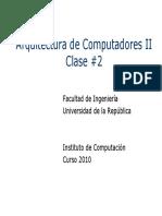 Arquitectura de Computadores II clase #2.pdf