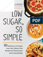 Low sugar so simple