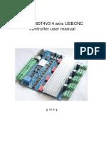 manual de tarjeta cnc 4 axis