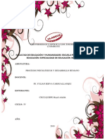 Procesos Psicológicos y Desarrollo Humano