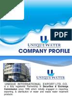 Company Profile Presentation 8.22.19
