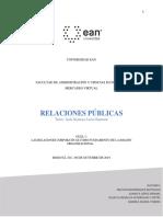 Rueda,Bohorquez, Rodriguez,Lopez Relaciones Publicas Guía No 1