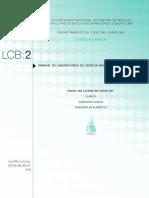 LCB IIQuimica Ingenieria Quimica Ingenieria en Alimentos